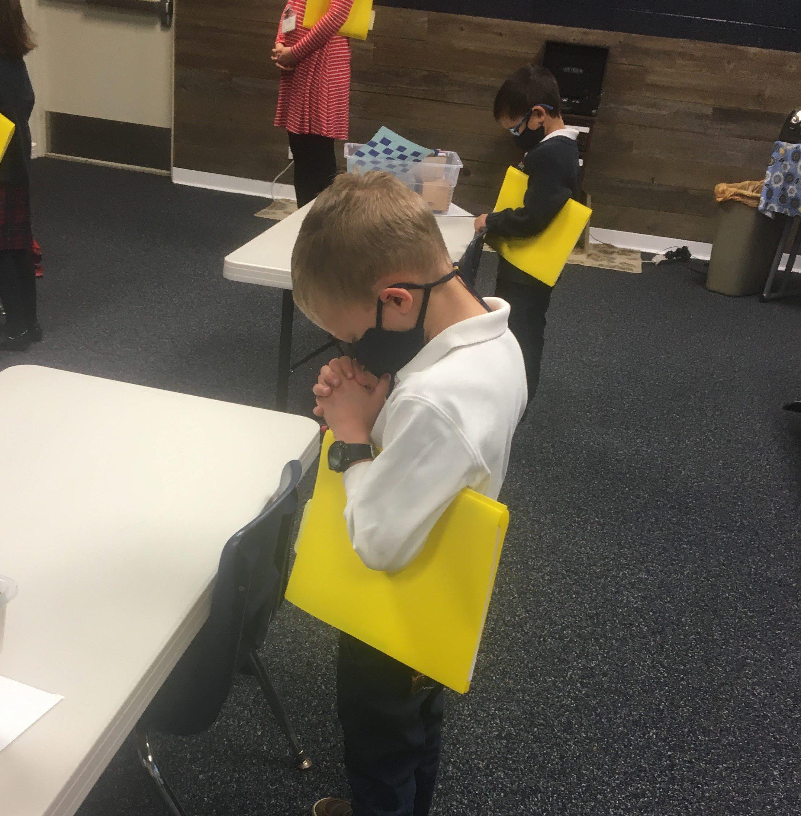 E2 Boy Praying