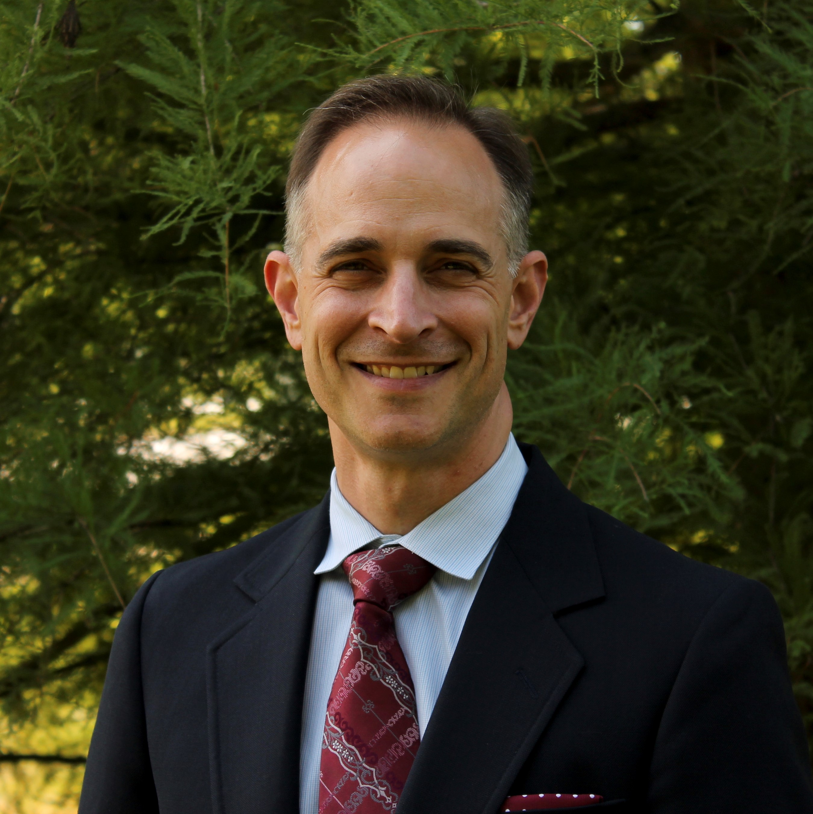 Patrick Egan, Dean of the Upper School at Clapham School in Wheaton, IL