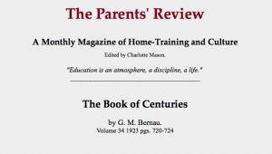 CHARLOTTE MASON AND THE GROWTH MINDSET