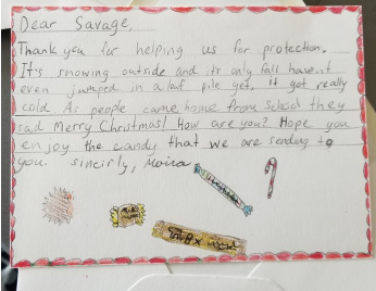 Letter to Savage