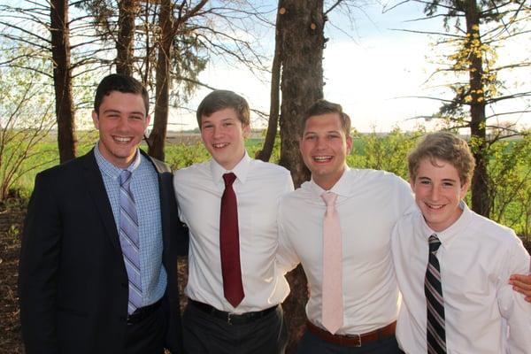 The Parker boys