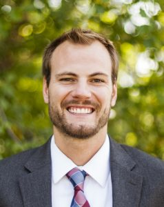 Kolby Atchison Bible and Humanities teacher at Clapham School