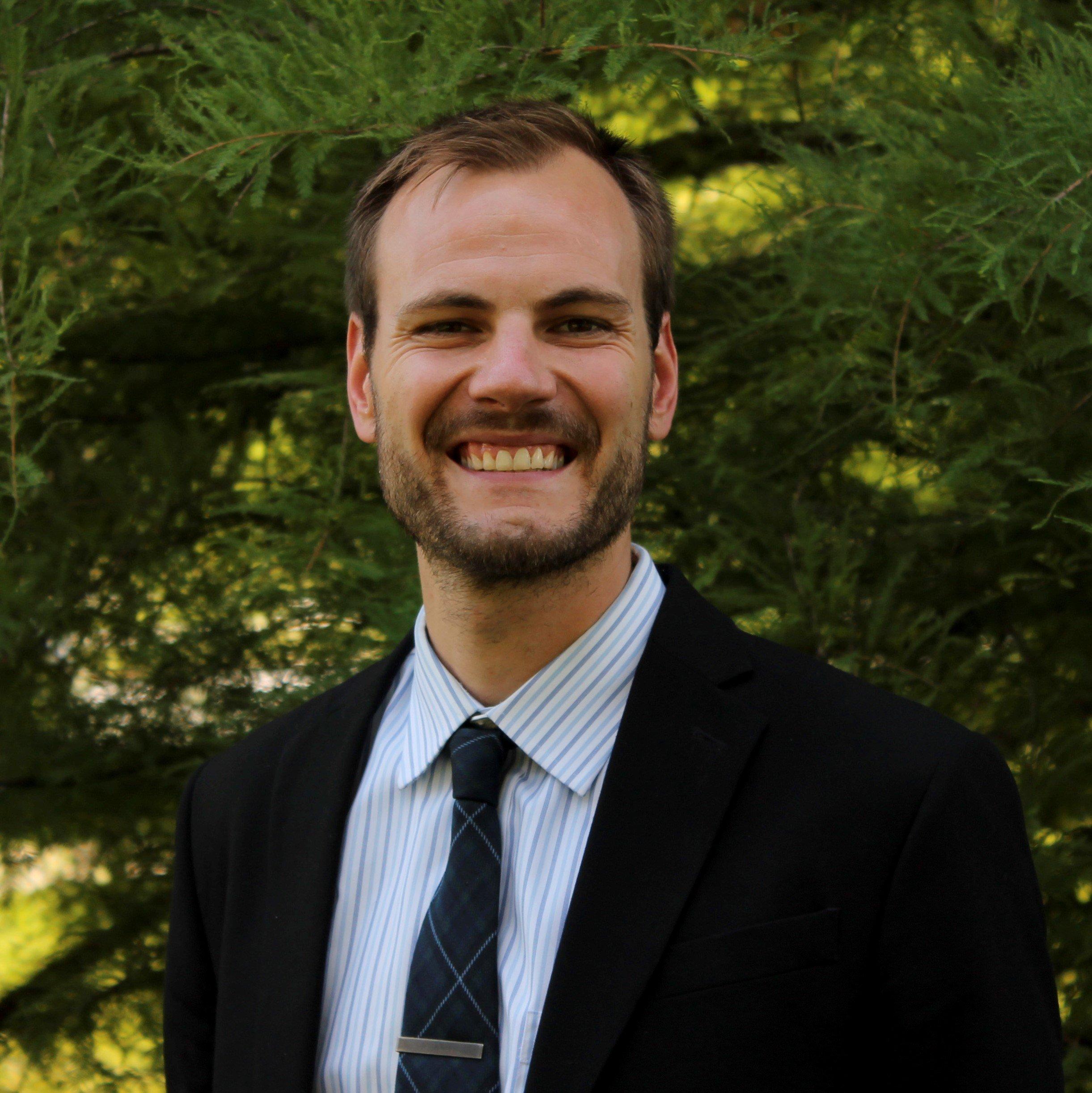 Kolby Atchison, Student Leadership teacher at Clapham School in Wheaton, IL