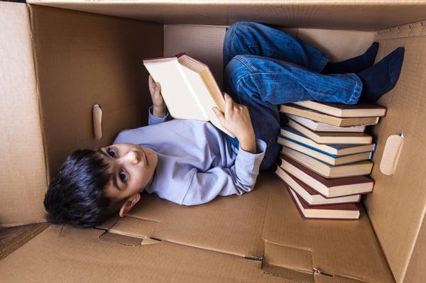 A Box Maze Reading Nook