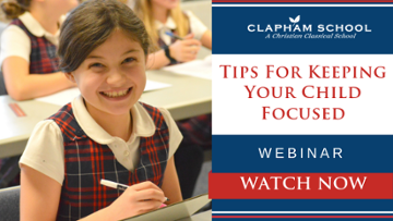 Watch Now: Tips for Keeping your child Focused